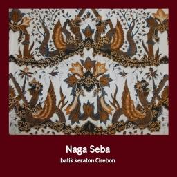 Motif Keraton Cirebon #4 – Naga Seba