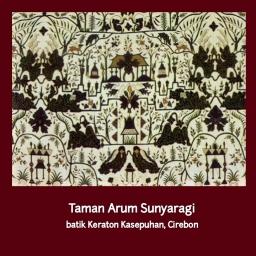 Batik Keraton Cirebon #5 – Taman Arum Sunyaragi