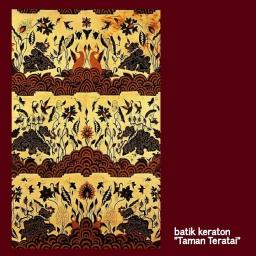 Motif Keraton Cirebon #6 – Taman Teratai